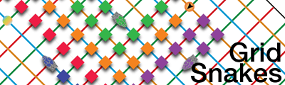 Grid Snakes banner.