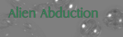 Alien Abduction banner